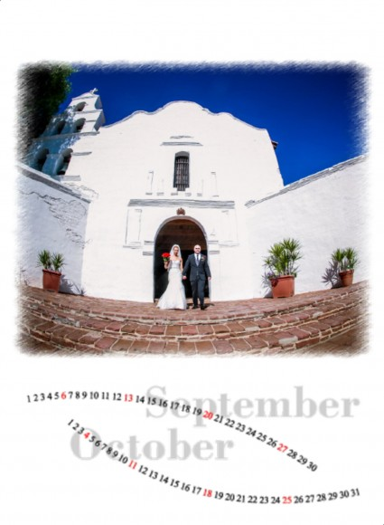Valerie and Raul wedding calendar by San Diego Wedding Photographers Andrew Abouna_006