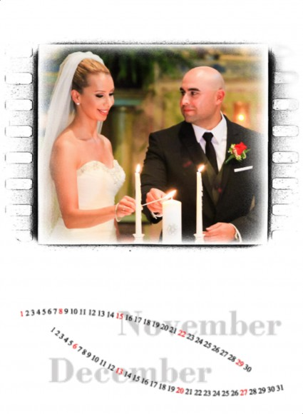 Valerie and Raul wedding calendar by San Diego Wedding Photographers Andrew Abouna_007