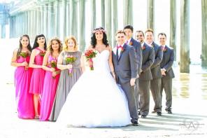 Carly and Nathan Hyatt Regency La Jolla Scripps Seaside Forum Wedding by San Diego Wedding Photographer Andrew Abouna