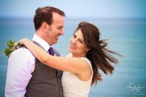Christina and Steven Sunset Cliffs Wedding by Wedding Photographer San Diego Andrew Abouna