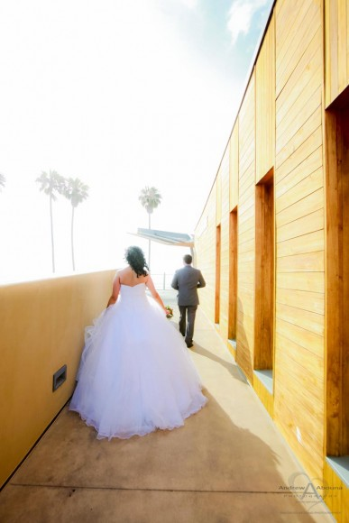 Carly and Nathan Hyatt Regency La Jolla Scripps Seaside Forum Wedding by San Diego Wedding Photographer Andrew Abouna