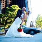Valerie and Raul Symphony Towers Wedding Reception by San Diego Wedding Photographers Andrew Abouna