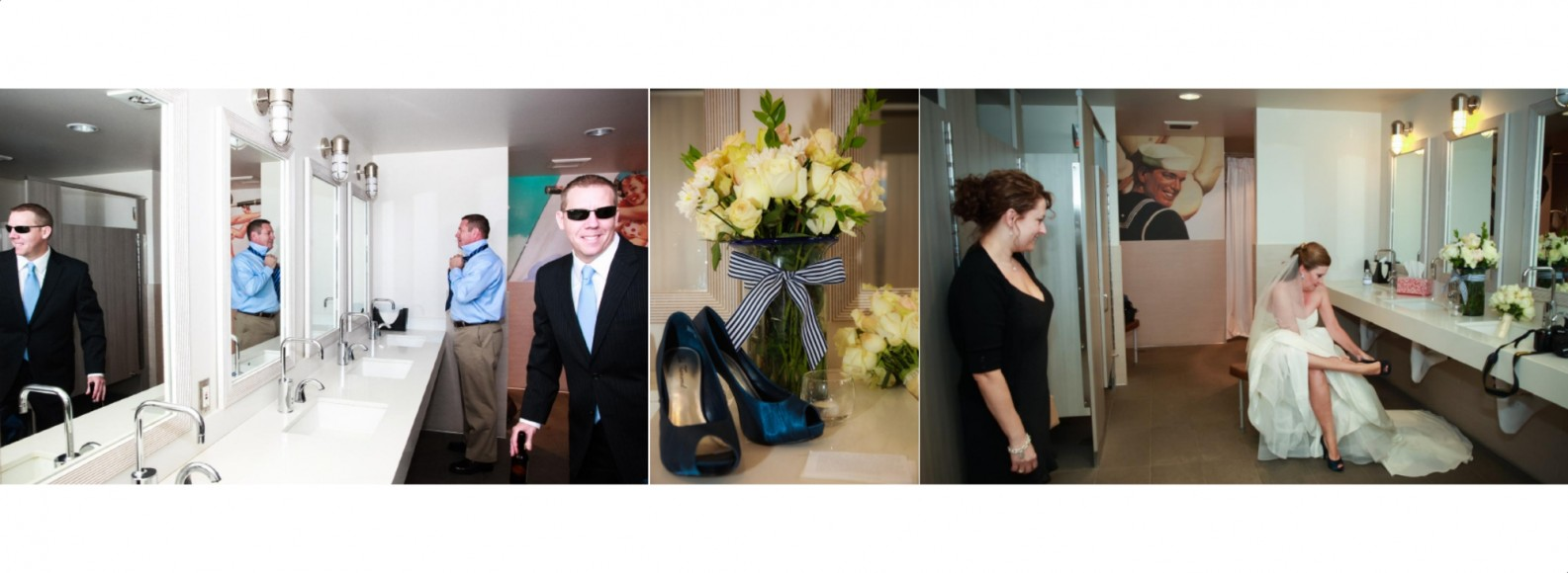 Laura and Davids Wedding Book - San Diego Yacht Wedding by Wedding Photographers Andrew Abouna - Pages 2-3