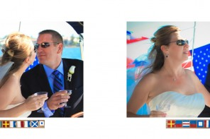 Laura and Davids Wedding Book - San Diego Yacht Wedding by Wedding Photographers Andrew Abouna - Pages 30-31