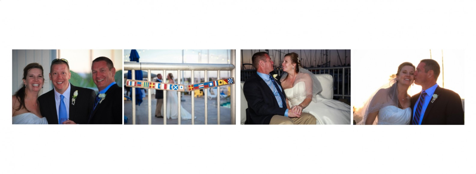 Laura and Davids Wedding Book - San Diego Yacht Wedding by Wedding Photographers Andrew Abouna - Pages 42-43