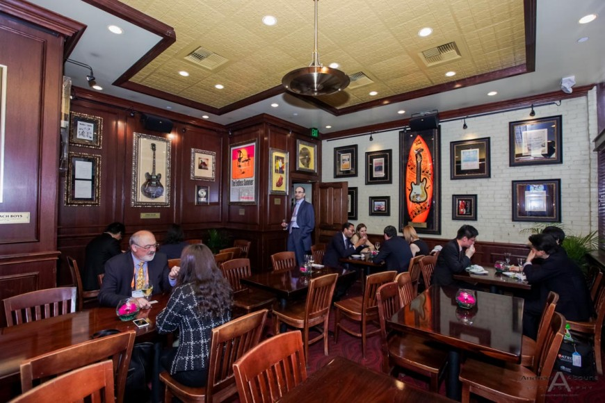 MG-IP Intellectual Property Law Reception Photography at Hard Rock Cafe by Event Photographers San Diego Andrew Abouna