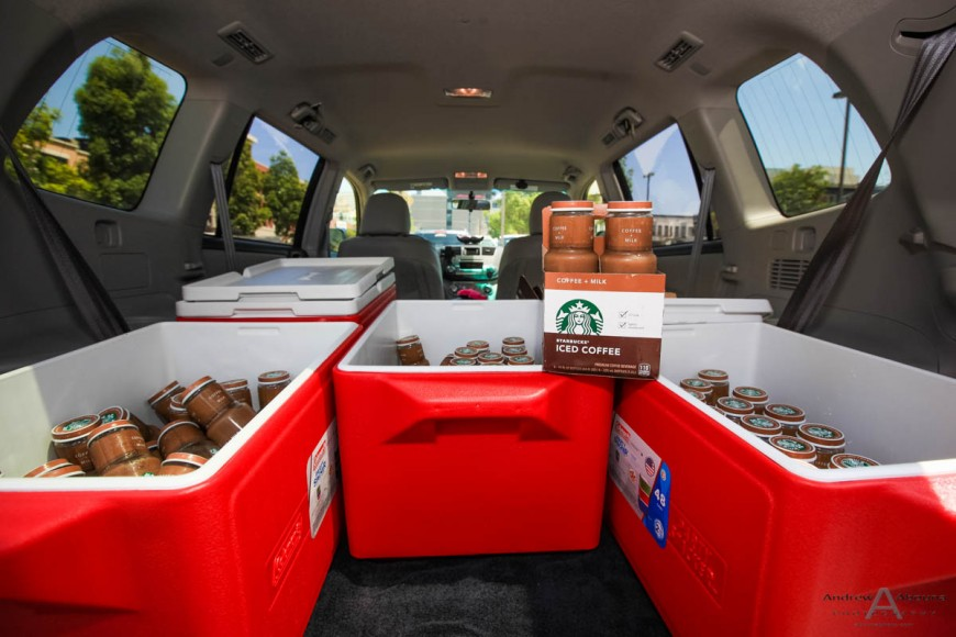 FlavorPill Lyft Starbucks Photography Product Service Marketing Shoot by Event Photographer San Diego Andrew Abouna