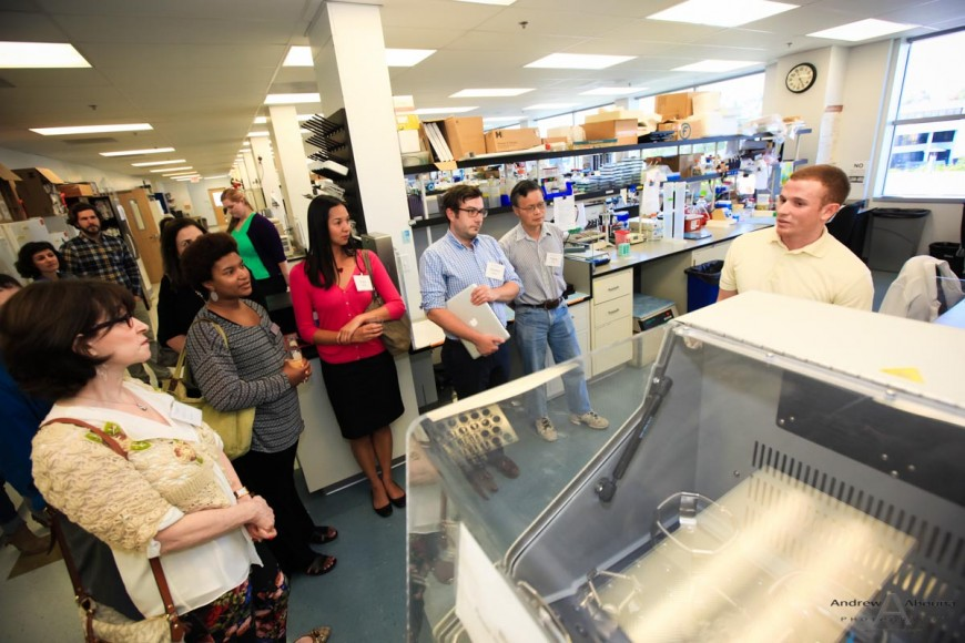 Sanford-Burnham Cancer Center Lab Tour