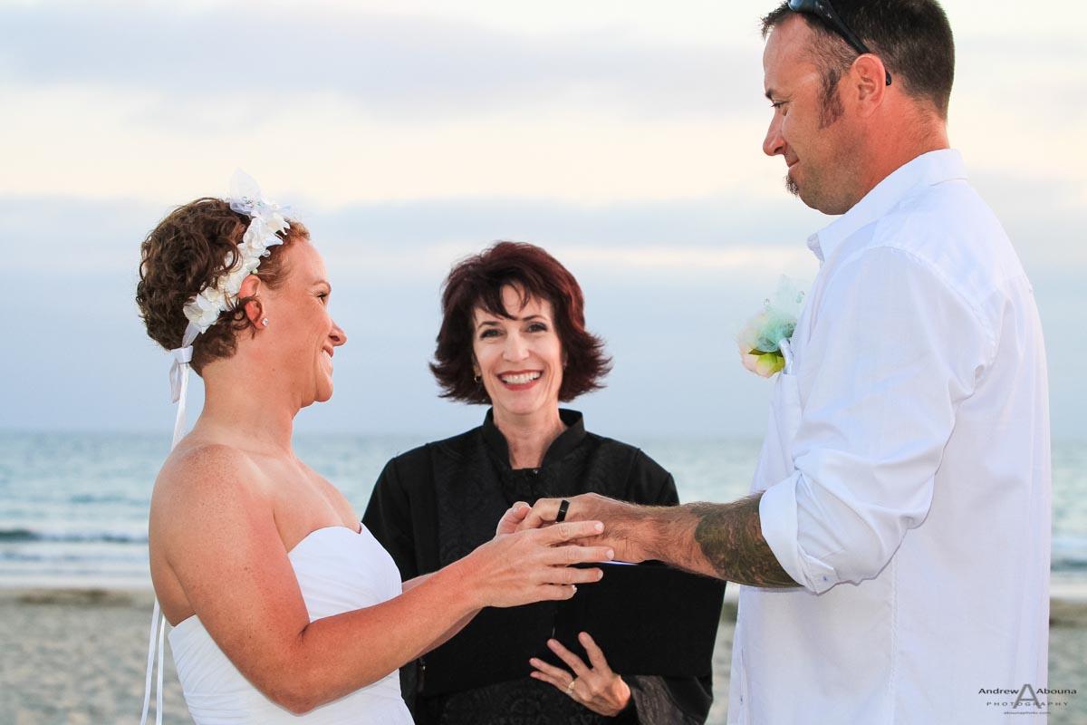Destination Wedding Coronado near San Diego - AbounaPhoto