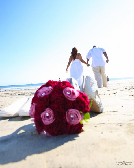 Jache and Thomas Coronado Beach Wedding Photography by Andrew Abouna