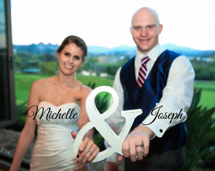 Michelle and Joseph Wedding Album Design_cover