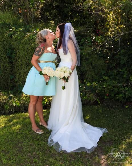 Monica and Ricky La Jolla Backyard Wedding Posed Photos by San Diego Wedding Photographer Andrew Abouna