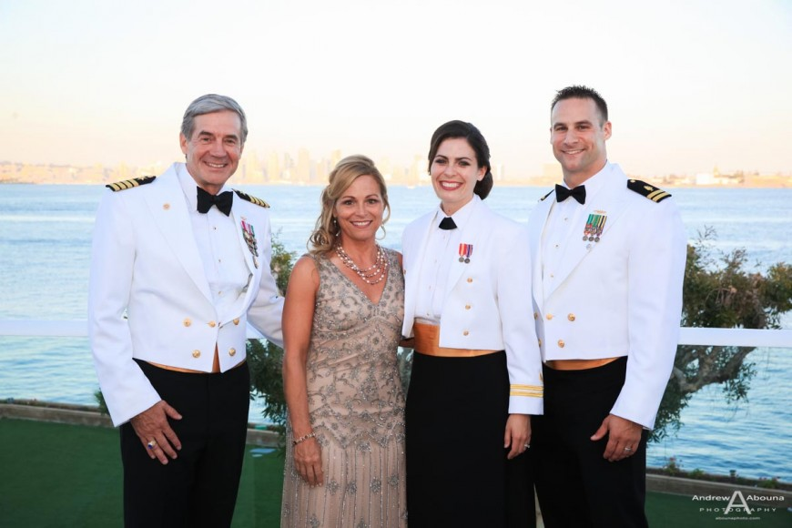 United States Navy Medical Service Corps Ball Photos by Event Photographer San Diego AbounaPhoto
