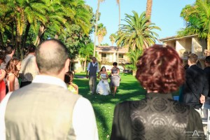 Jenna and Guillermo Hilton Mission Bay Wedding Photos by AbounaPhoto