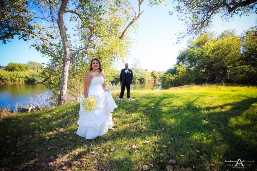 Jocelyn and Kaylen Admiral Baker Golf Course Wedding by professional wedding photographer in San Diego AbounaPhoto