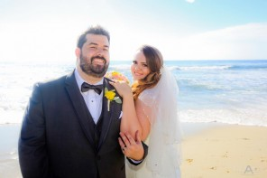 Nicole and Keenan Destination Windansea Beach Wedding La Jolla by Wedding Photographer San Diego Andrew Abouna