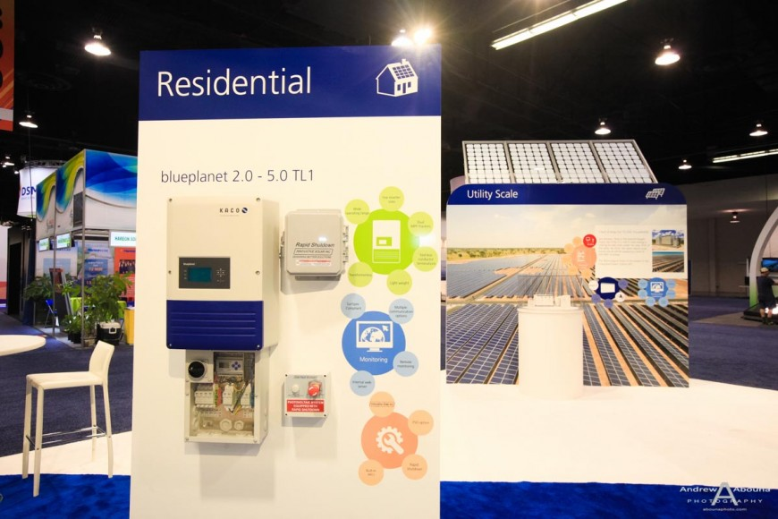 Plus Studios Kaco at Solar Power International Expo Photography Anaheim by Commercial Event Photographer of San Diego Andrew Abouna