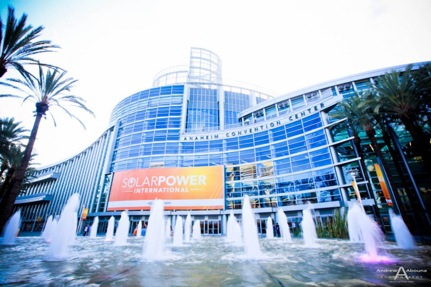 Plus Studios SunEdison Kaco at Solar Power International Expo Photography Anaheim by Commercial Event Photographer of San Diego Andrew Abouna