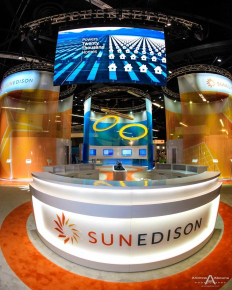 Plus Studios SunEdison at Solar Power International Expo Photography Anaheim by Commercial Event Photographer of San Diego Andrew Abouna
