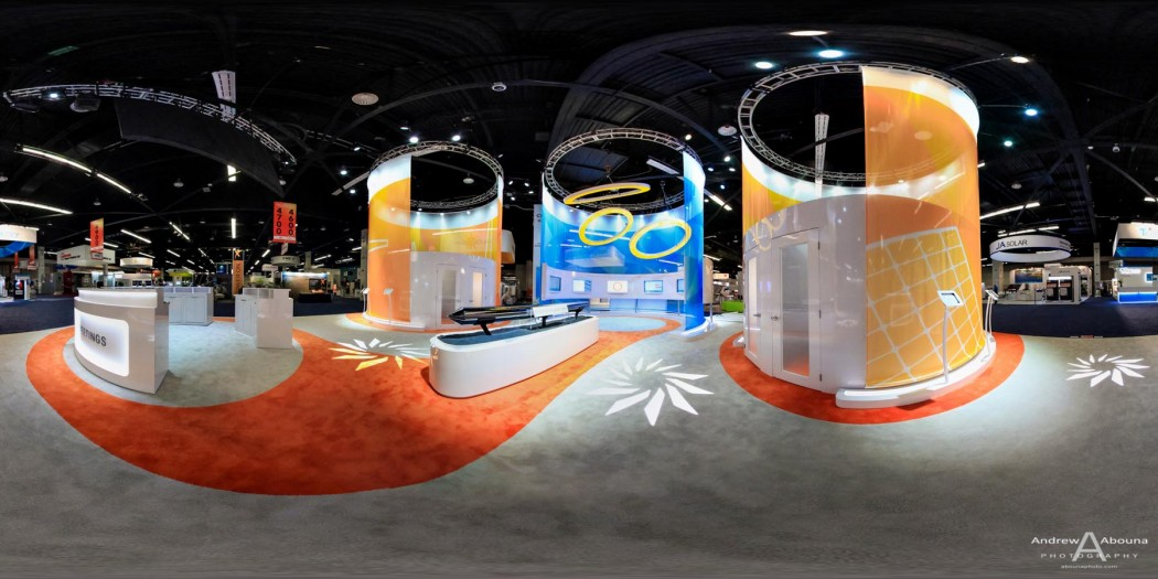 Plus Studios SunEdison at Solar Power International Expo Panorama Photography Anaheim by Commercial Event Photographer of San Diego Andrew Abouna
