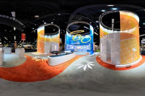 Explore SunEdison and Kaco Solar Energy Expo Booths With Virtual Photography