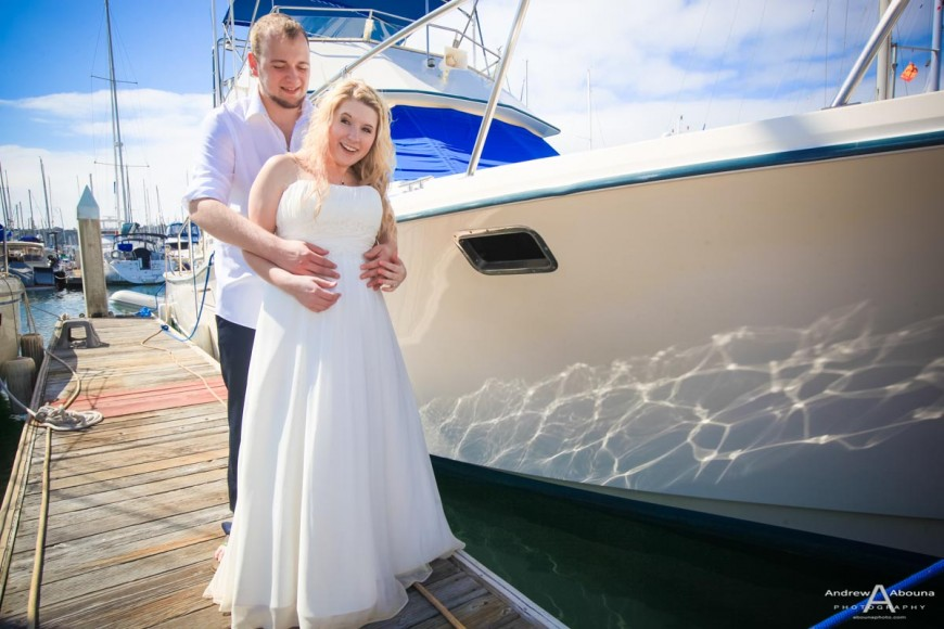 Brittany and Jimmy Best Western Island Palms Wedding Photography San Diego - AbounaPhoto