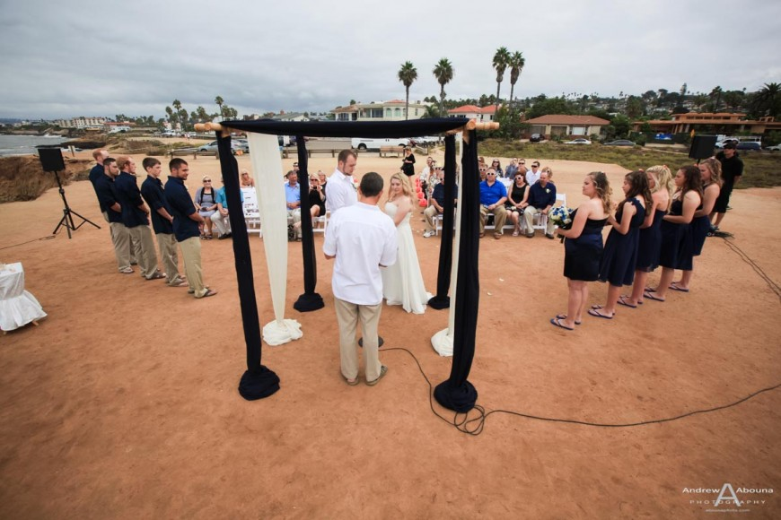 Brittany and Jimmy Sunset Cliffs Wedding Photography San Diego - AbounaPhoto
