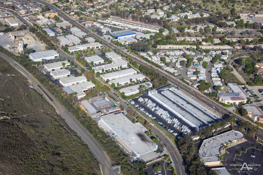 Commercial property aerial photography for Voit by Commercial Photographer San Diego Andrew Abouna