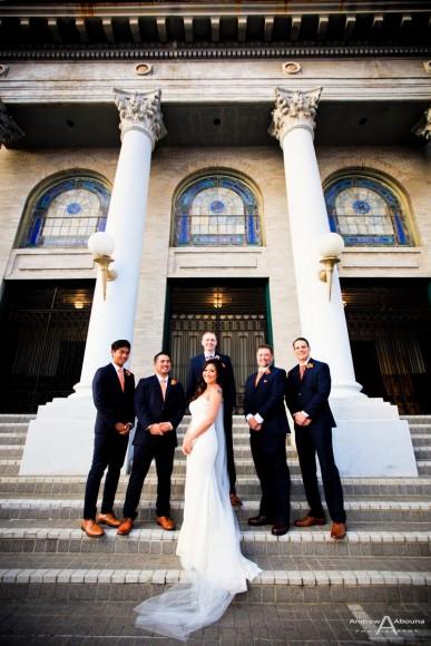 Desiree and Jason The Abbey San Diego Wedding Photos by San Diego Wedding Photographer Andrew Abouna