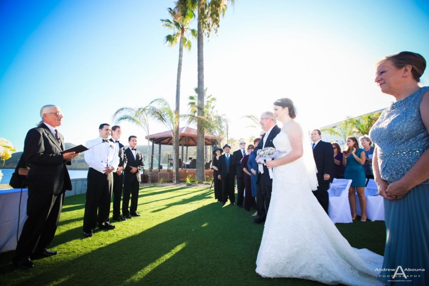 Rebecca and Dave Ocean View Wedding Point Loma by Wedding Photography San Diego Andrew Abouna
