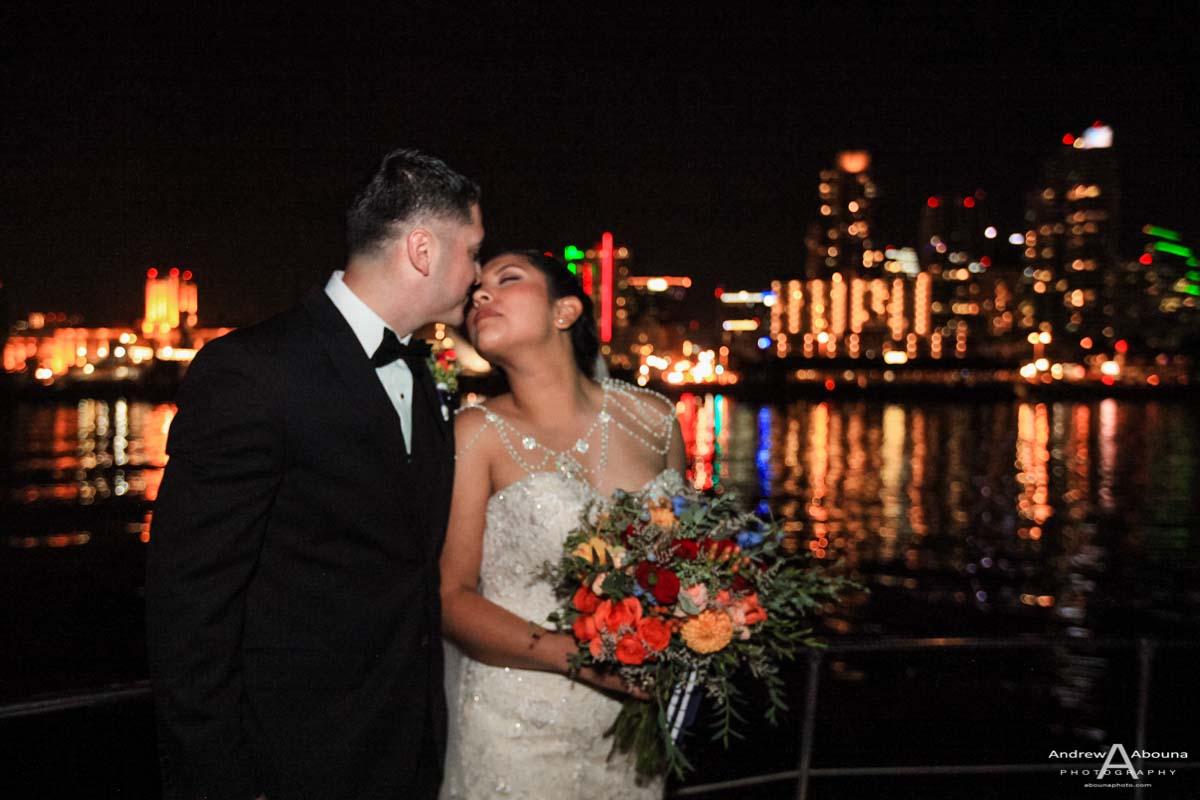 Alejandra and Erik - Hornblower Wedding San Diego