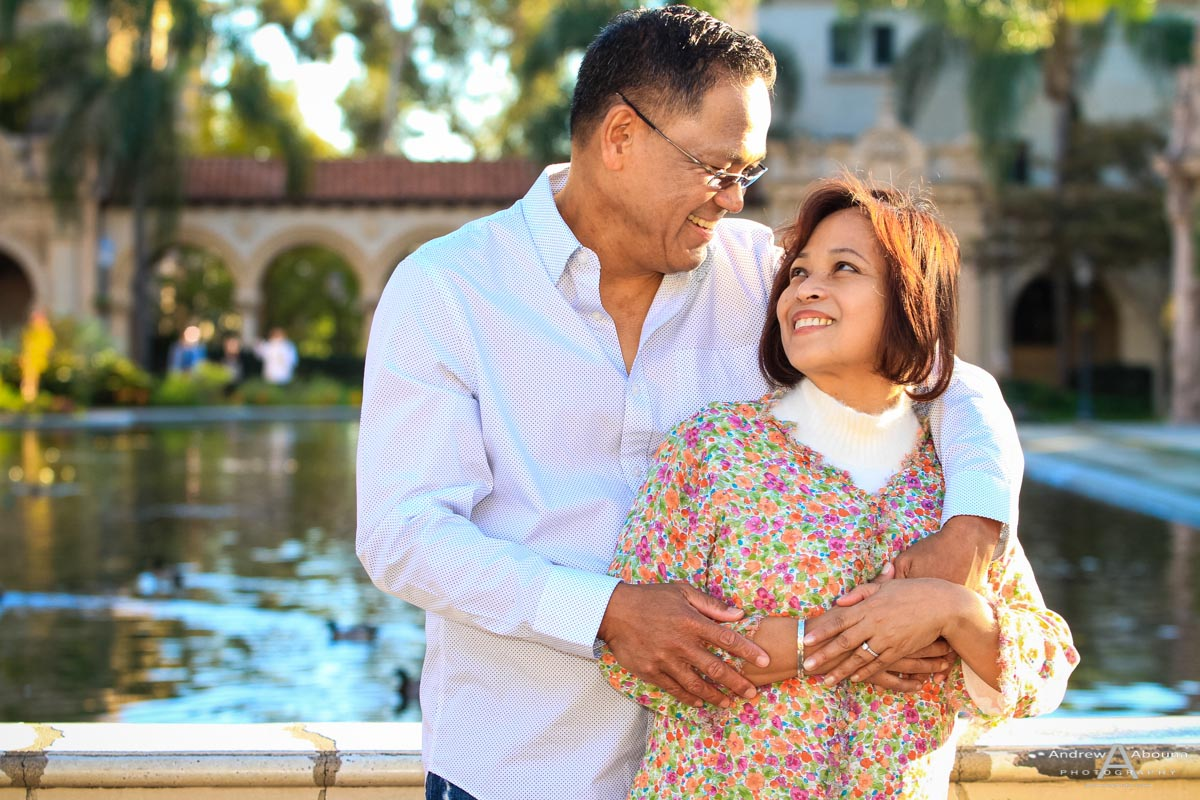 Beautiful Balboa Park Engagement Photos Session
