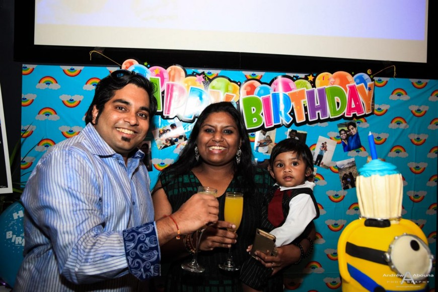 Rishaan's One Year Birthday Party Photography - Abouna Photo
