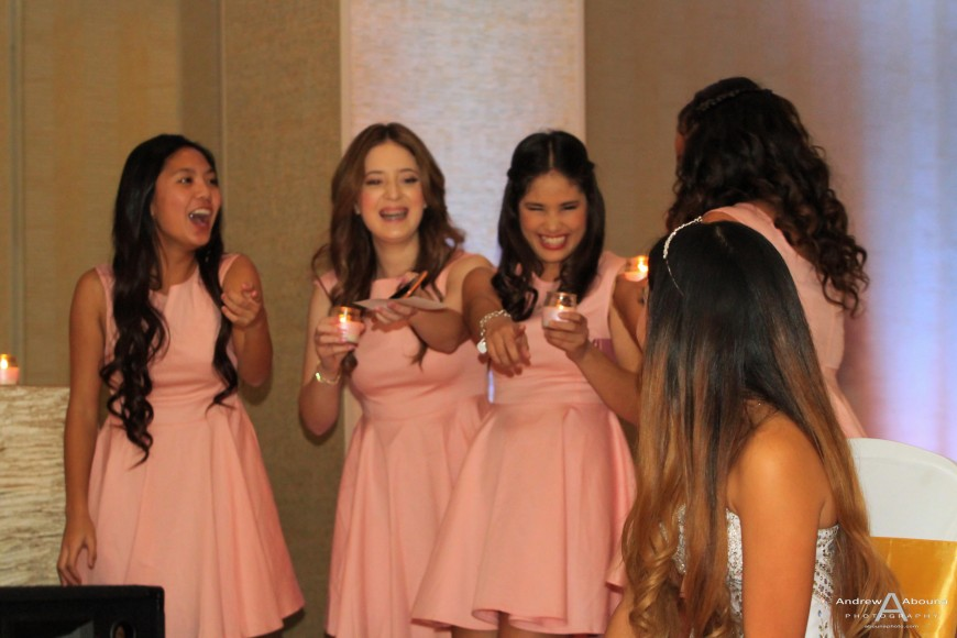 Madeleine 18th Birthday Party Photography at Mariott by San Diego Event Photographer Andrew Abouna