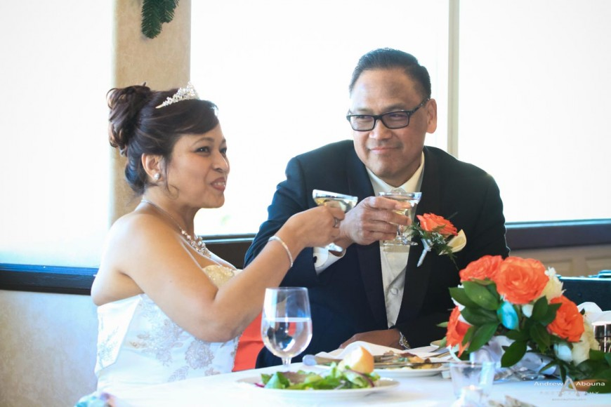 Nora and Sam Admiral Kidd San Diego Bay Wedding Photography by Andrew Abouna