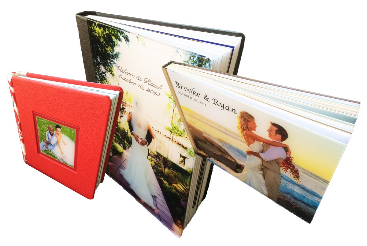 The Wedding Album Cover Protects and Enhances the Photo Story