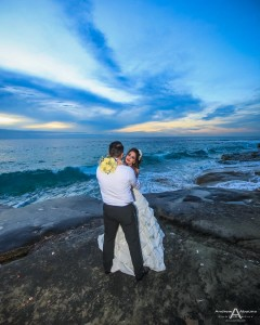 Farah and Arab Windansea Beach La Valencia wedding photography La Jolla by San Diego wedding photographer Adnrew Abouna
