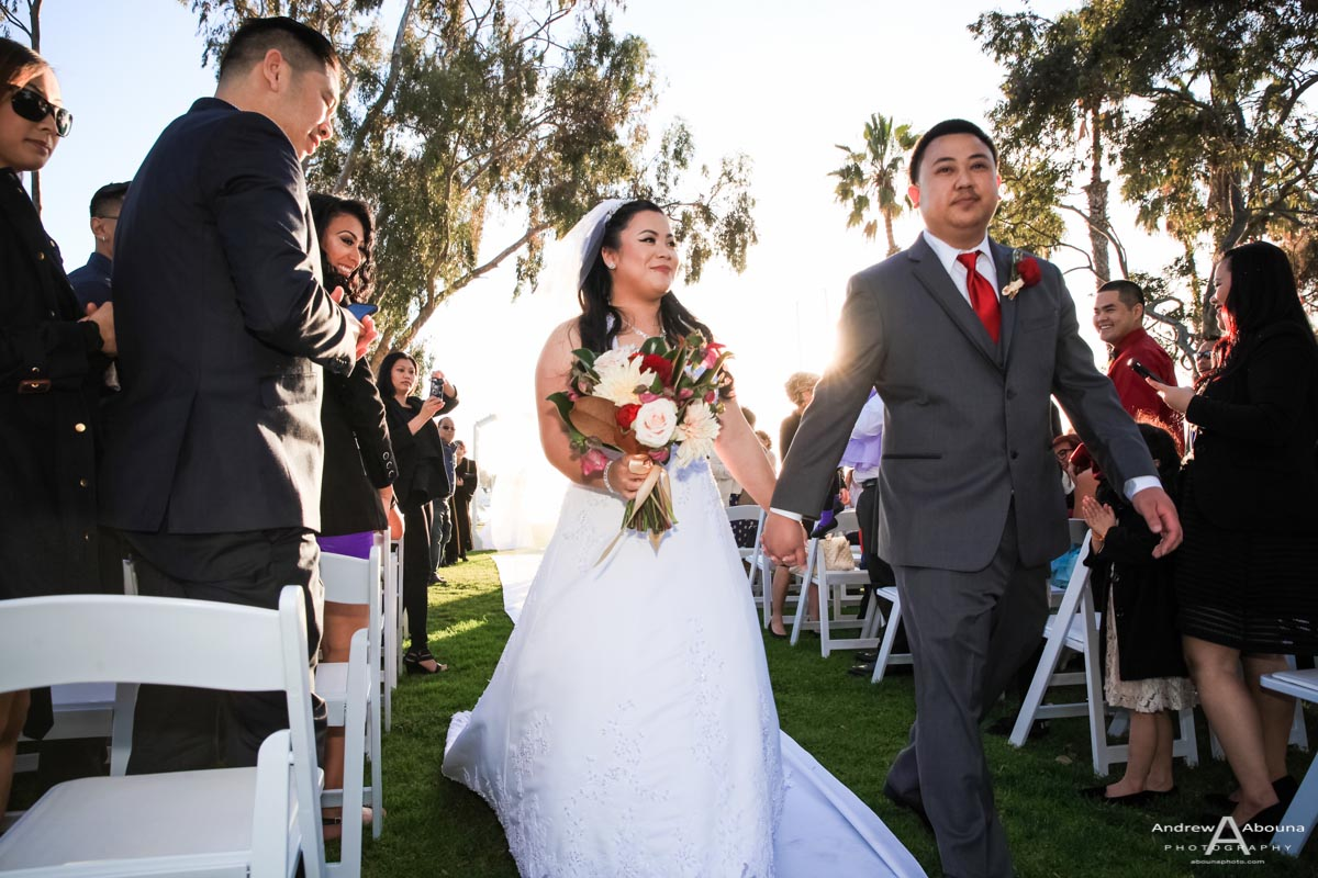 Marina Village Wedding Photography in San Diego - AbounaPhoto