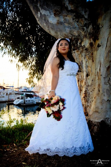 Jasmine and Kevin Marina Village Wedding Photography by Wedding Photographer San Diego Andrew Abouna