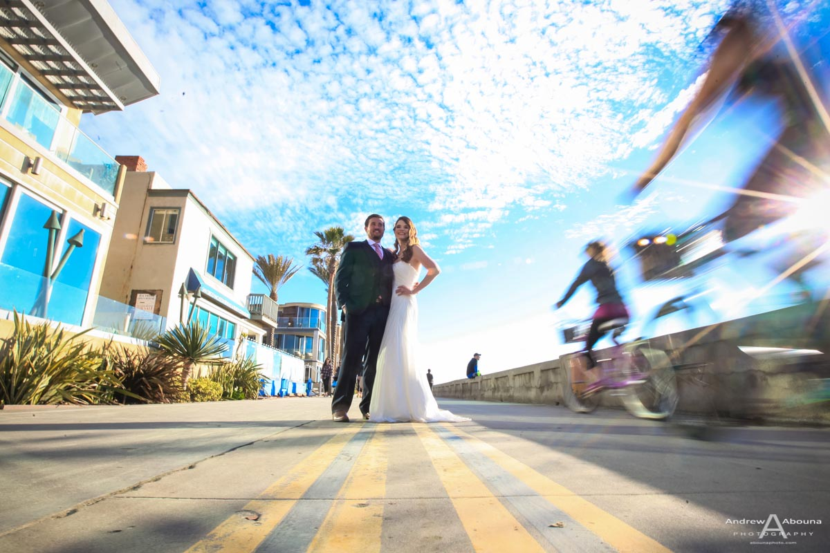Mission Beach Wedding Photography in San Diego by AbounaPhoto