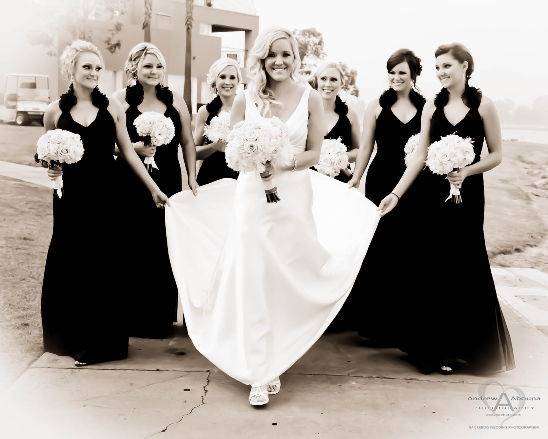 Bridesmaids Each Gert a Free Wedding Photo Book of Your Wedding