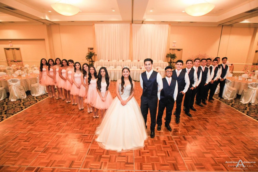 Danielle 18th Birthday Party Debut Event Photography Crowne Plaza San Diego by AbounaPhoto