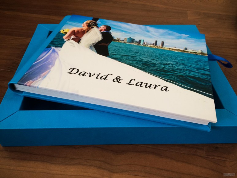 Beautiful Affordable Wedding Album Photo Book - Nautical Sailing Wedding by Wedding Photographer in San Diego Andrew Abouna