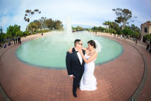 Chelsea and Sebastian-Marriott-Mission de Alcala-Balboa Park-San Diego Woman's Club-Wedding Photography by AbounaPhoto