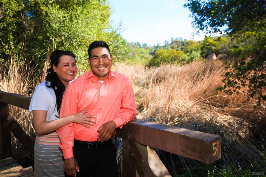 Rosa and Samuel Engagement Photography Escondido by wedding photographer San Diego Andrew Abouna - AbounaPhoto