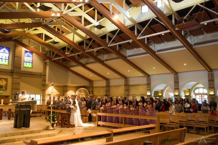 Charisse and Garrett Saint Martha Catholic church wedding photography Murrieta - Abbott Manor reception Temecula California - San Diego wedding photographer Andrew Abouna