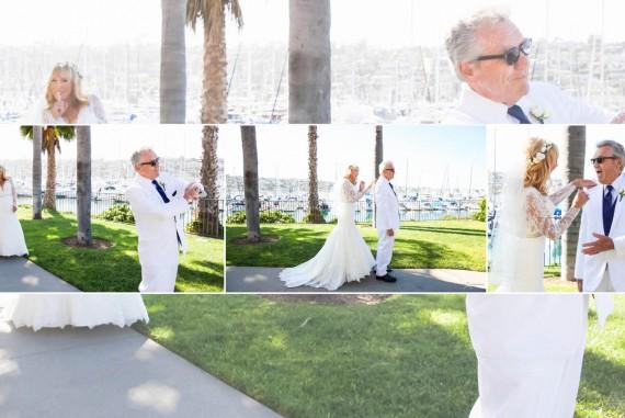 Darcie and Rick Best Western Island Palms Wedding Beside the Marina and Bay by San Diego Wedding Photographers Andrew Abouna