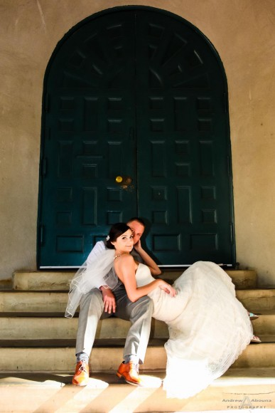 Sasha and Chase Pre-wedding photo shoot Balboa Park by San Diego wedding Photographers Andrew Abouna