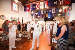 Captain David Beverly Navy Retirement Ceremony Photography - The Veterans Museum at Balboa Park - San Diego Photographer AbounaPhoto