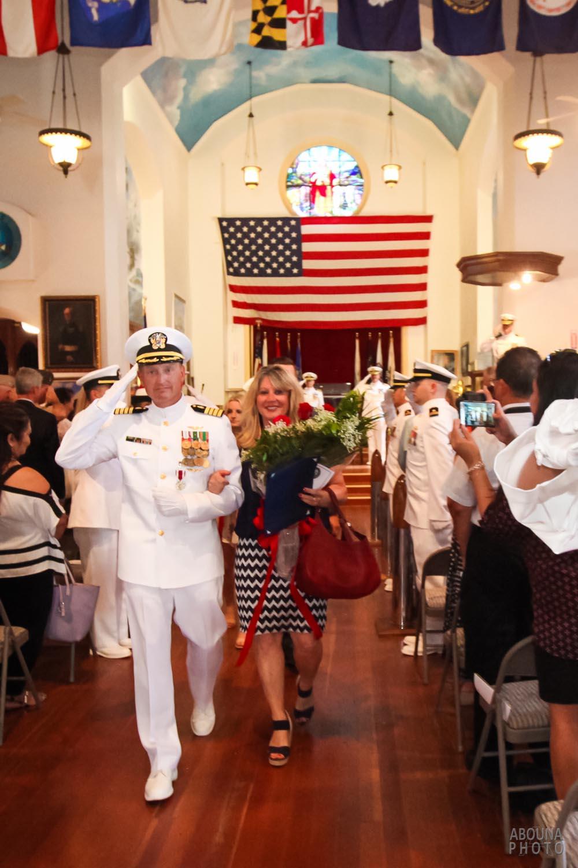 Navy Captain Retirement Ceremony Photography San Diego